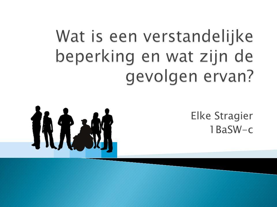 Elke Stragier 1BaSW-c