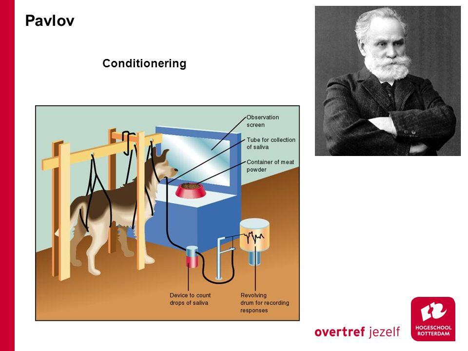 Pavlov Conditionering
