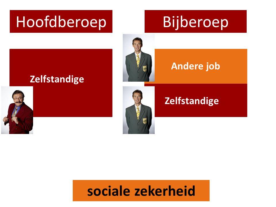 HoofdberoepBijberoep Zelfstandige Andere job sociale zekerheid
