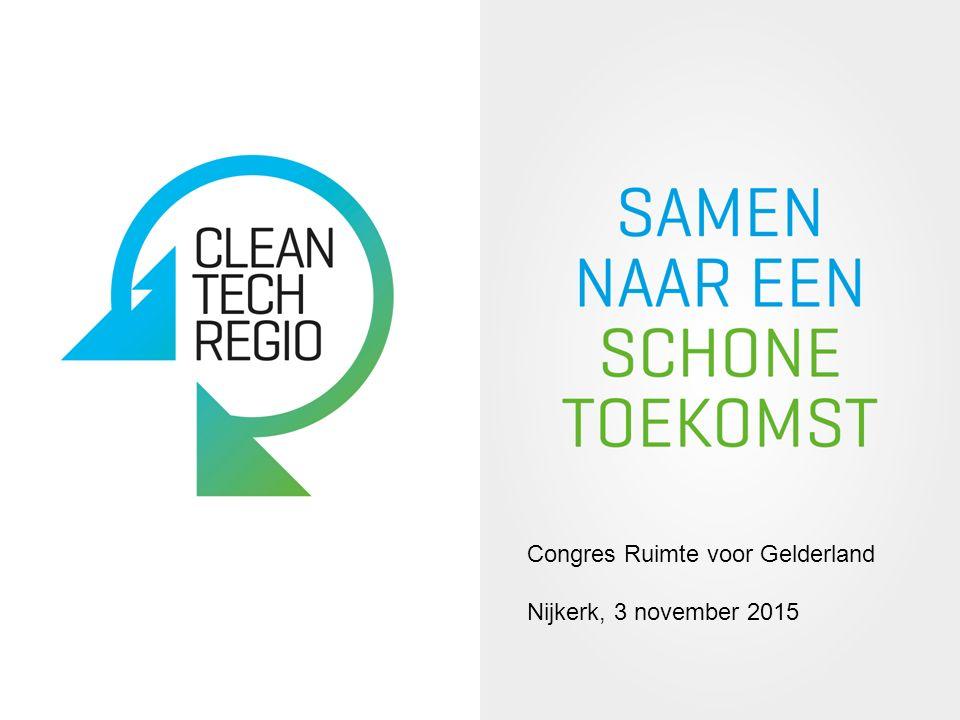 Congres Ruimte voor Gelderland Nijkerk, 3 november 2015