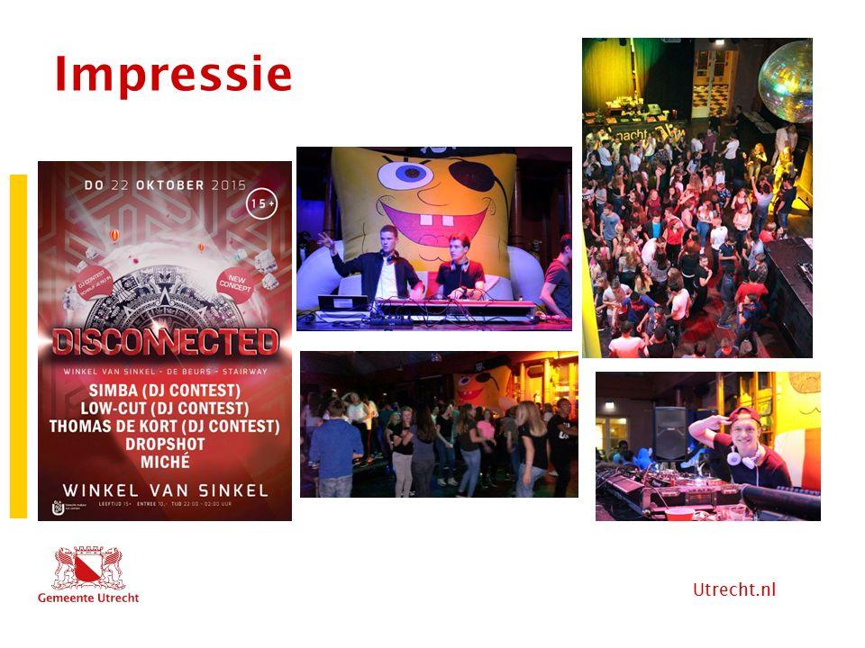 Utrecht.nl Stand van zaken na 2 feesten -1 e Feest: opstartproblemen (indrinkers, meesmokkelen alcohol, gedrag jongeren binnen).