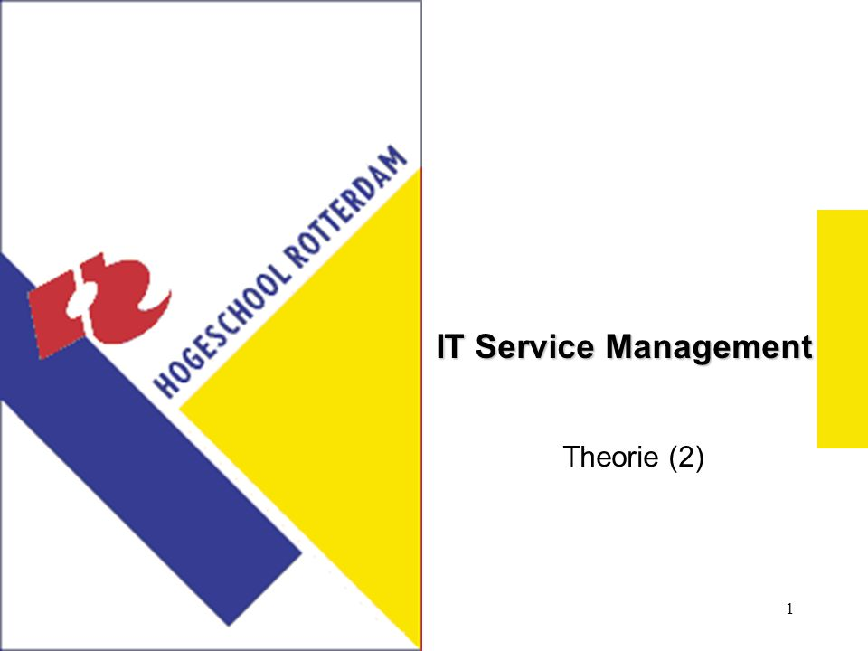 1 IT Service Management Theorie (2)