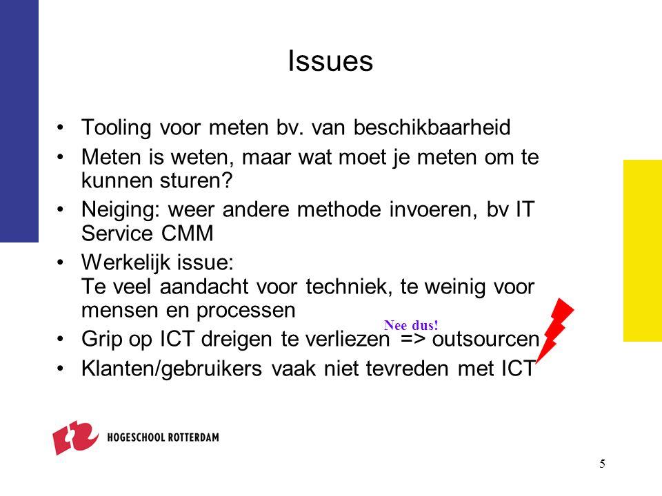 6 Waarom zijn klanten vaak niet tevreden met ICT.