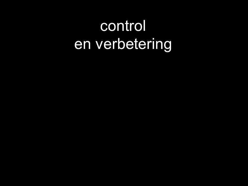 control en verbetering