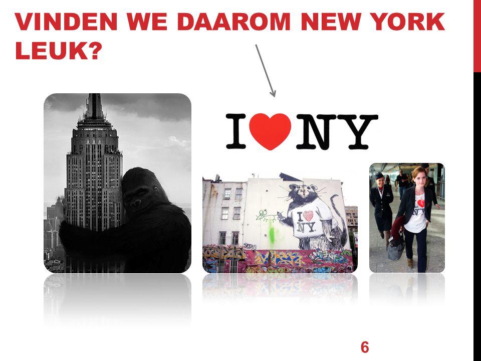 VINDEN WE DAAROM NEW YORK LEUK 6