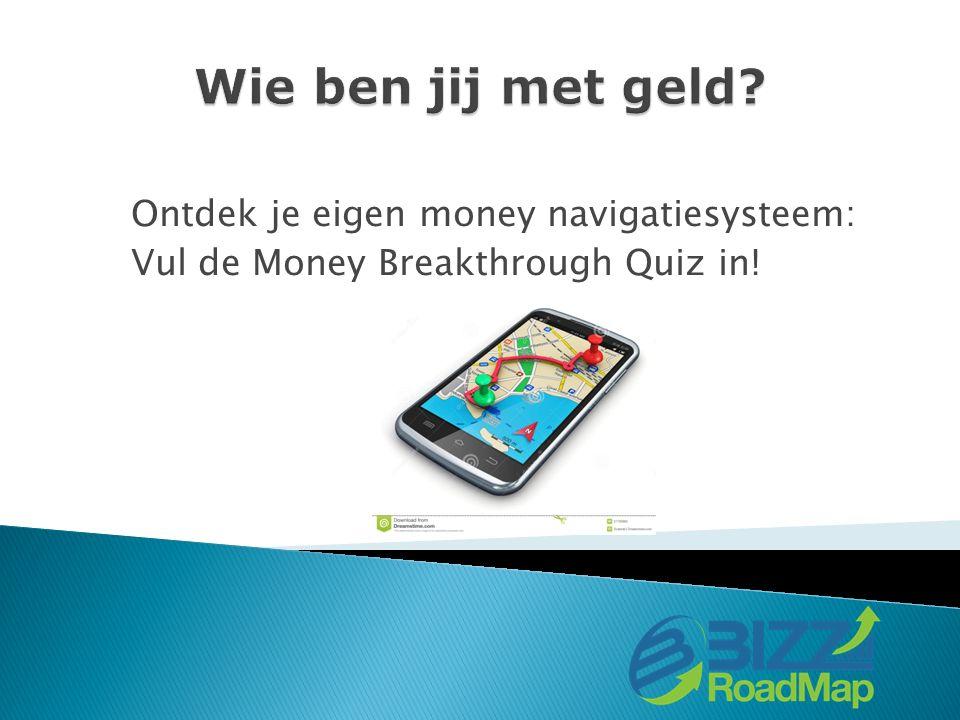 Ontdek je eigen money navigatiesysteem: Vul de Money Breakthrough Quiz in!