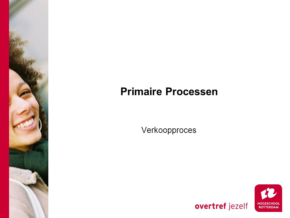 Primaire Processen Verkoopproces