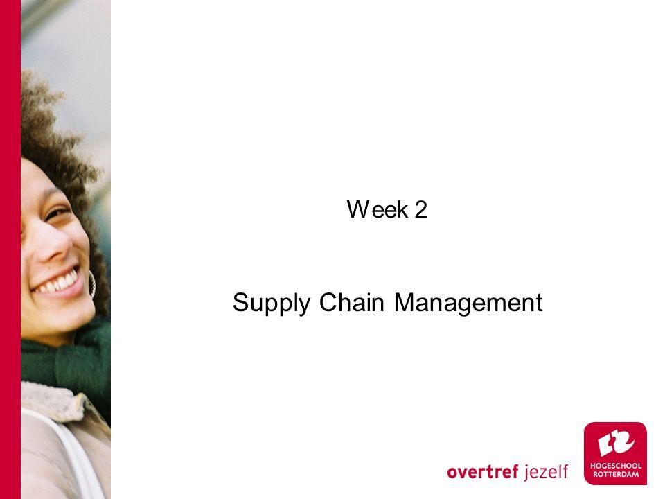 Week 2 Supply Chain Management