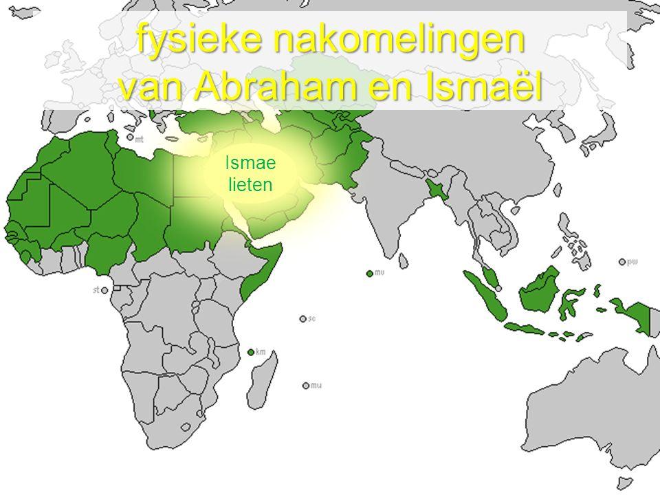 Afgewezen als zoon van belofte Gezegend om tot zegen te zijn Geliefd als zoon van Abraham