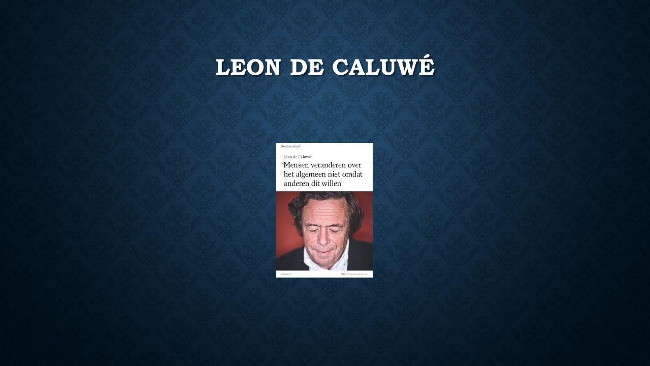 LEON DE CALUWÉ