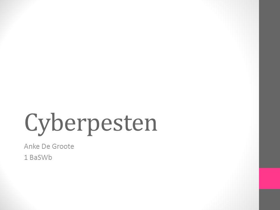 Cyberpesten Anke De Groote 1 BaSWb