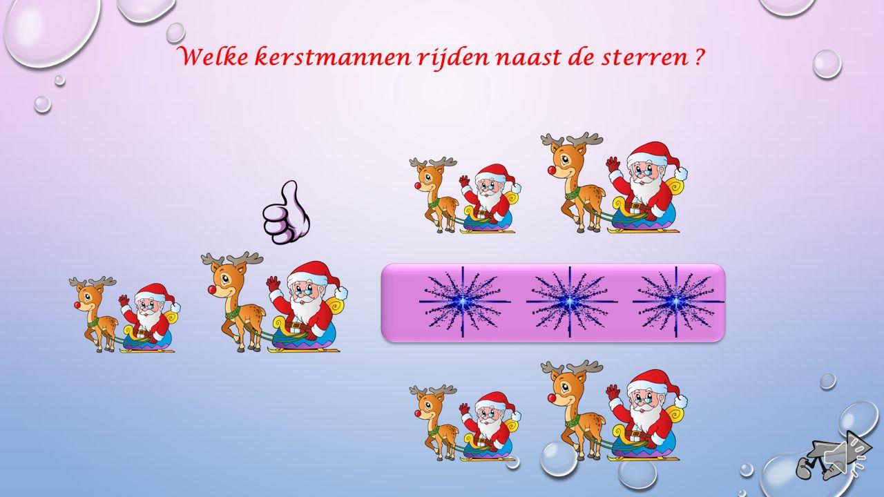 Welke kerststal staat op de sterren ?