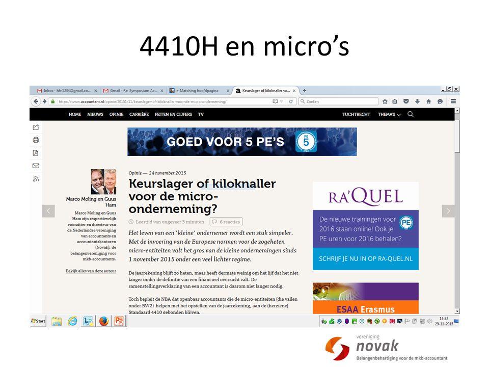 4410H en micro's