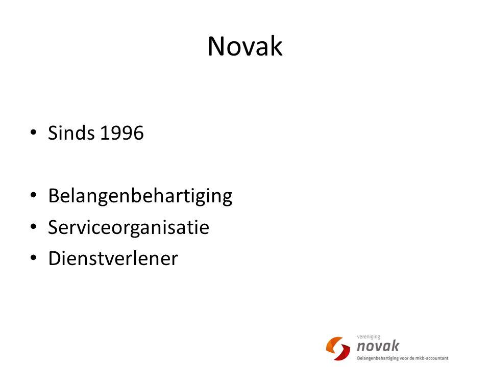 Novak Sinds 1996 Belangenbehartiging Serviceorganisatie Dienstverlener