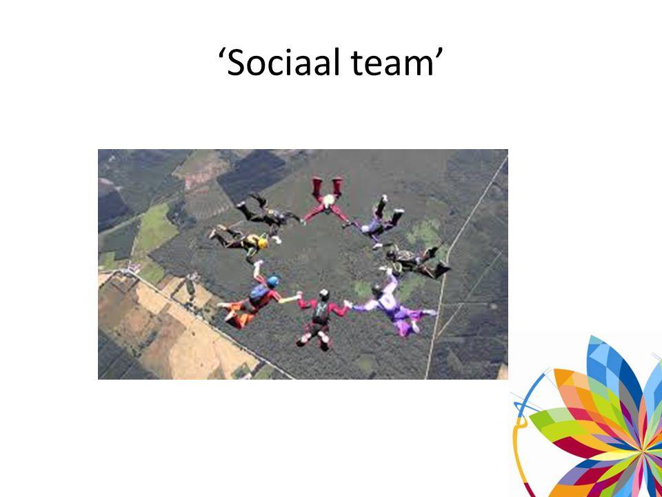 'Sociaal team'