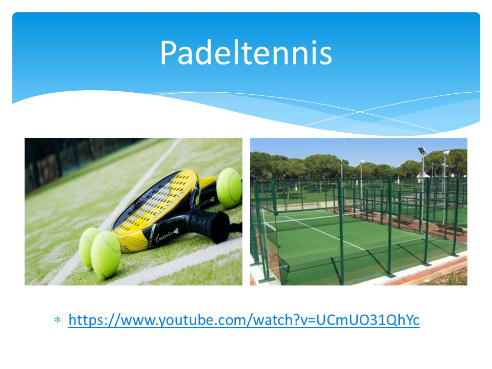  https://www.youtube.com/watch?v=UCmUO31QhYc https://www.youtube.com/watch?v=UCmUO31QhYc Padeltennis