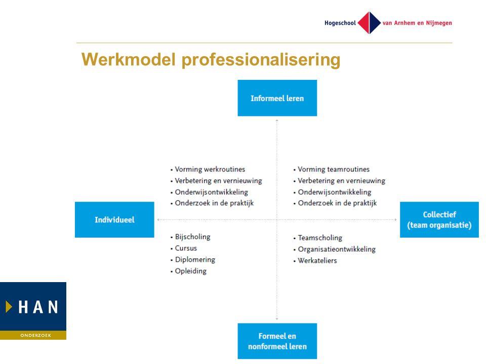 Werkmodel professionalisering
