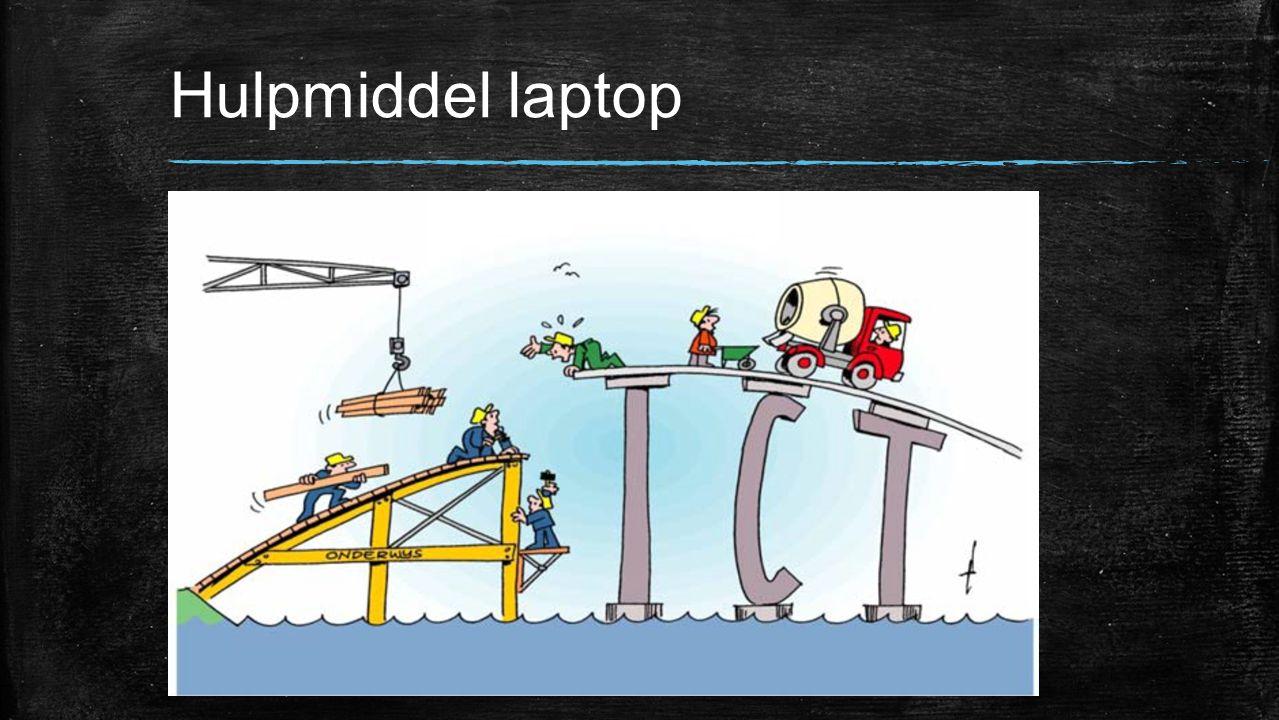 Hulpmiddel laptop