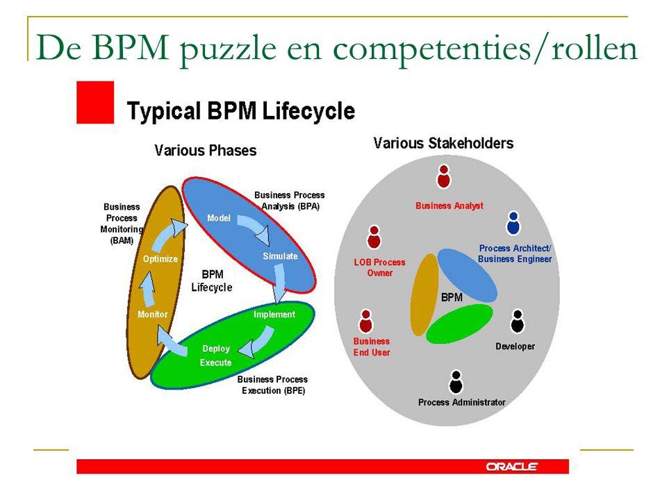 De BPM puzzle en competenties/rollen