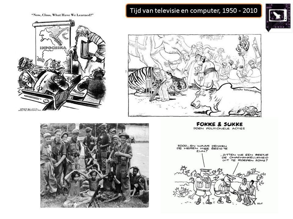 Tijd van televisie en computer, 1950 - 2010