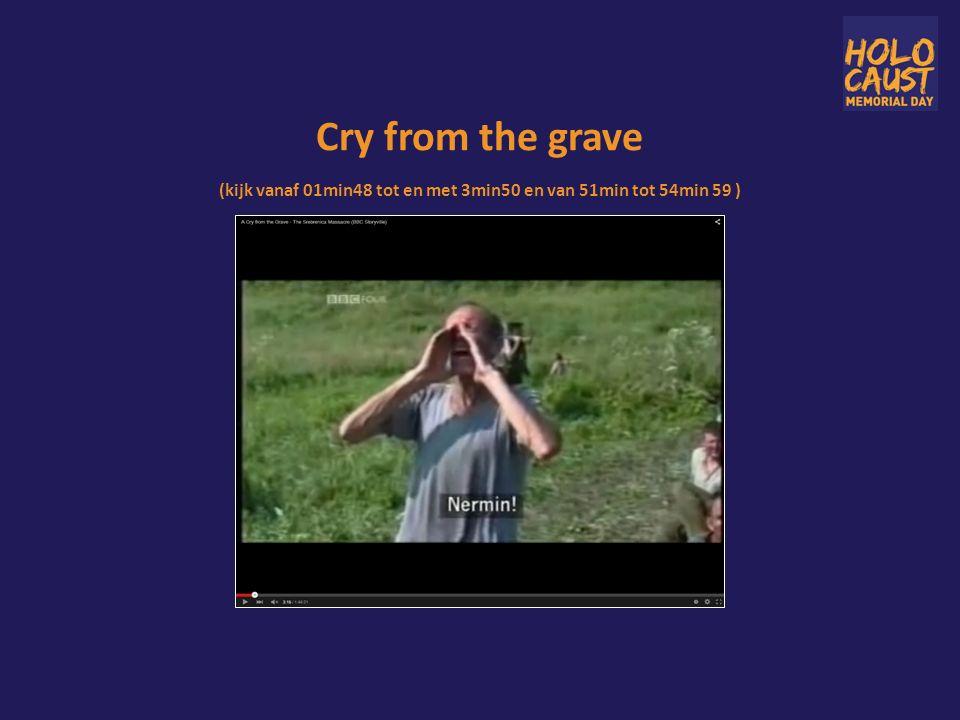 Cry from the grave (kijk vanaf 01min48 tot en met 3min50 en van 51min tot 54min 59 )