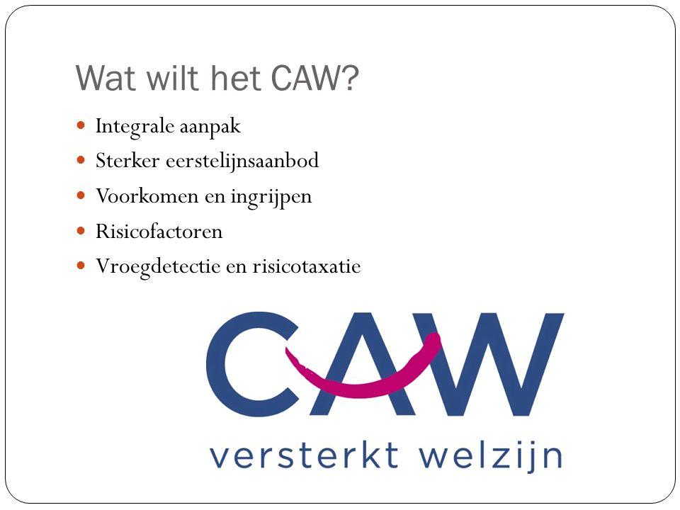 Wat wilt het CAW.