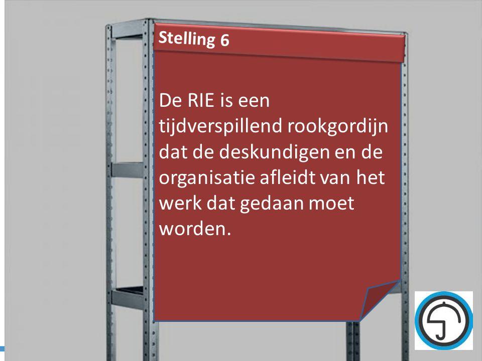 nvvk Gerard de Groot39 De RIE is een tijdverspillend rookgordijn dat de deskundigen en de organisatie afleidt van het werk dat gedaan moet worden. Ste