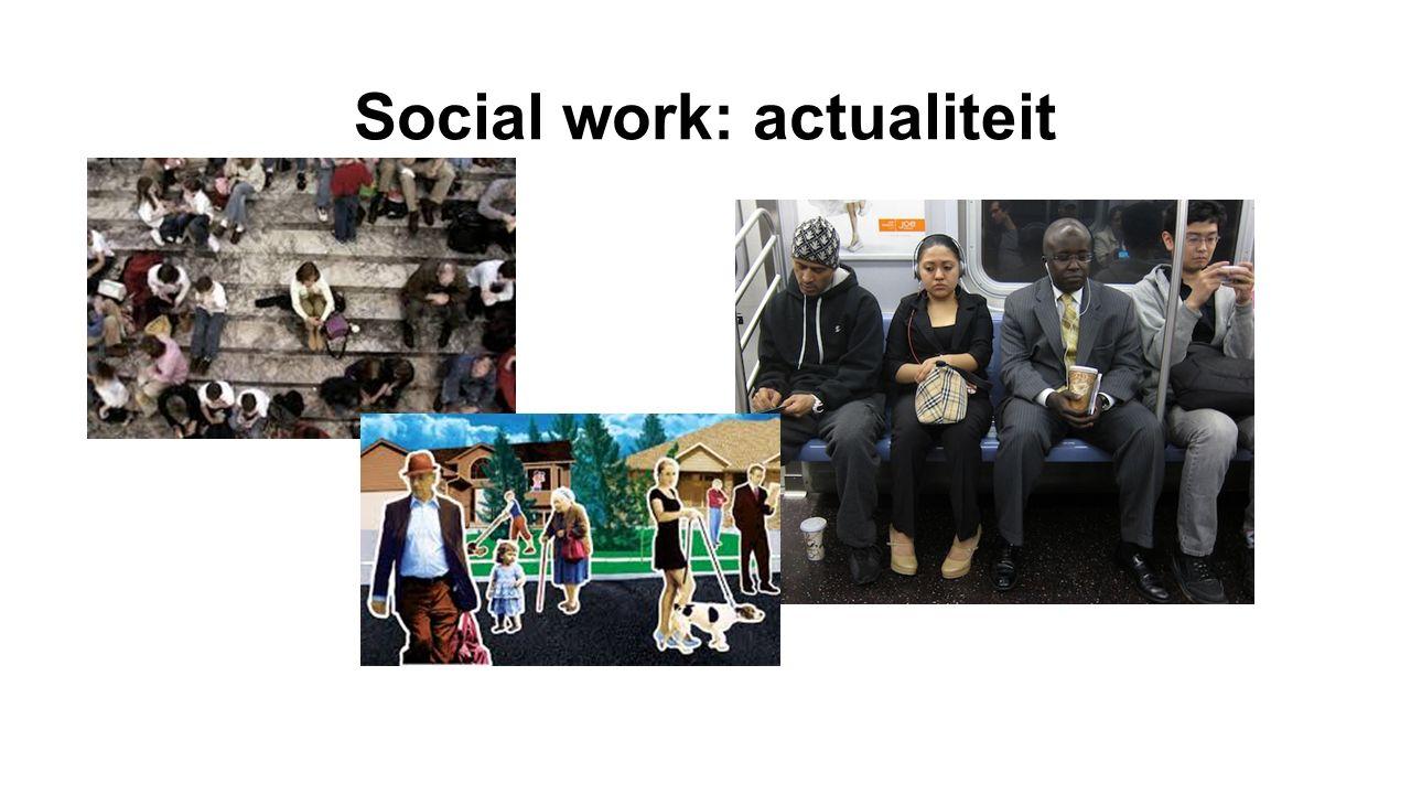 Social work: actualiteit