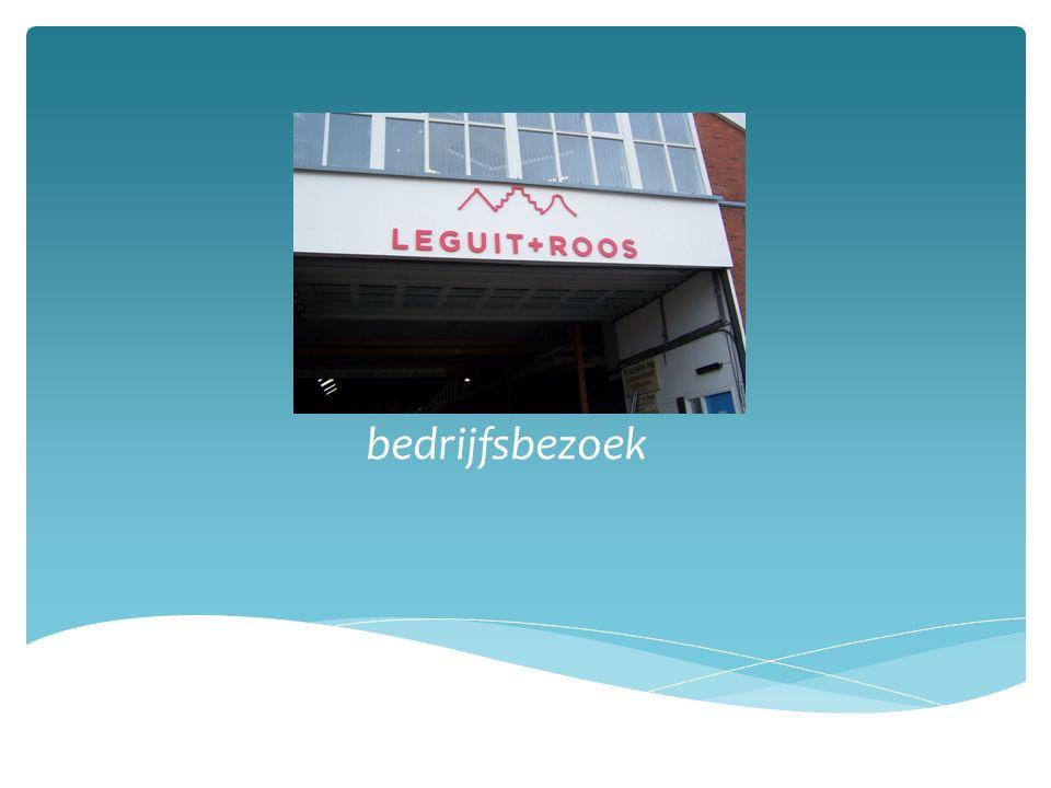Leguit + roos bedrijfsbezoek
