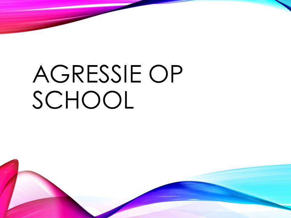 AGRESSIE OP SCHOOL