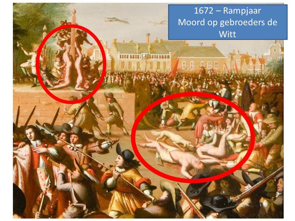 1672 – Rampjaar Moord op gebroeders de Witt