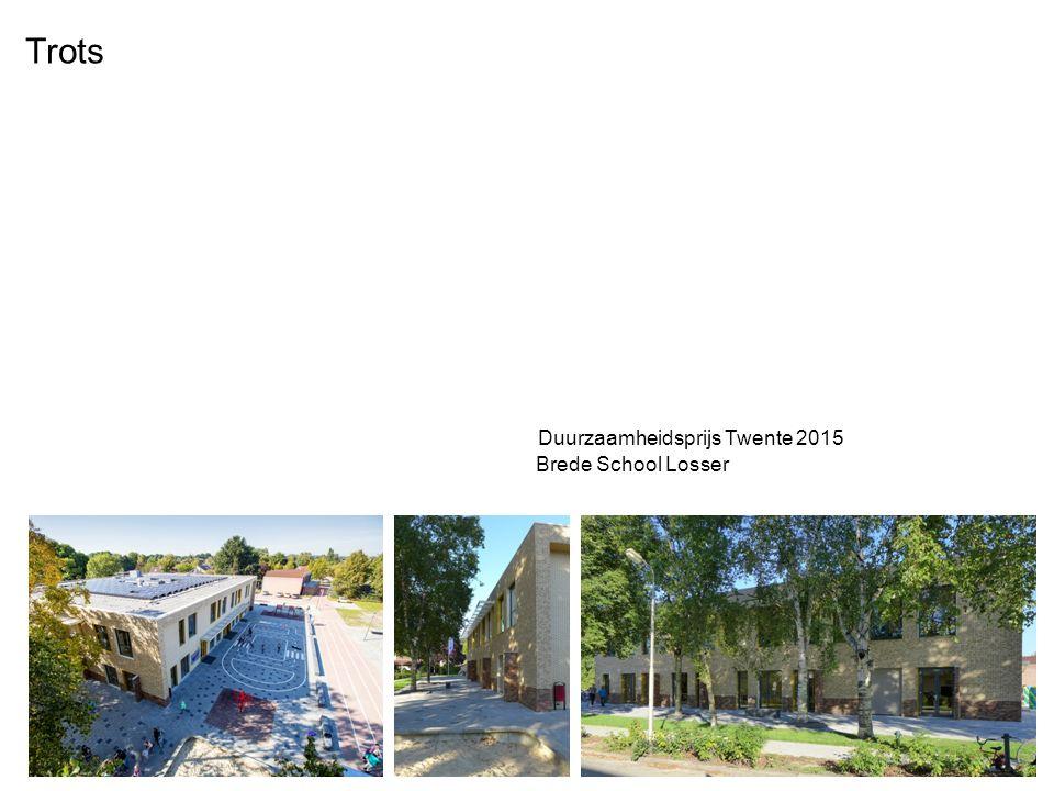 Duurzaamheidsprijs Twente 2015 Brede School Losser