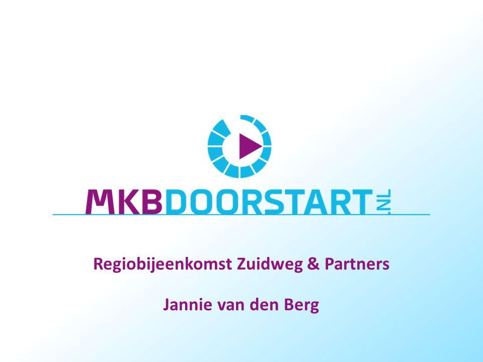 Regiobijeenkomst Zuidweg & Partners Jannie van den Berg