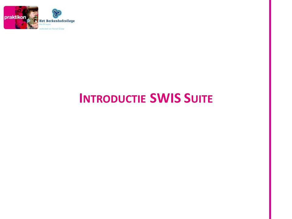 Wat is SWIS Suite.