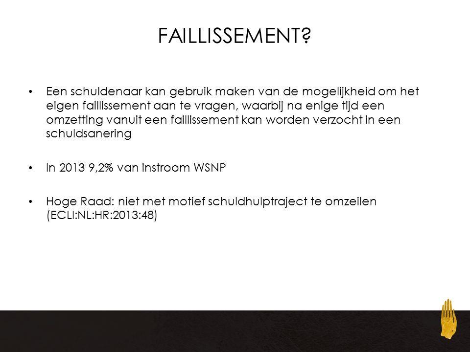 FAILLISSEMENT.