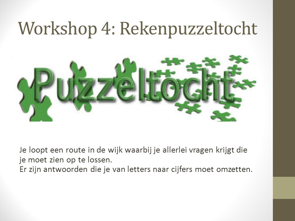 Workshop 5: 3D straattekenen Bij deze workshop ga je zelf aan de slag met tekenen met perspectief.