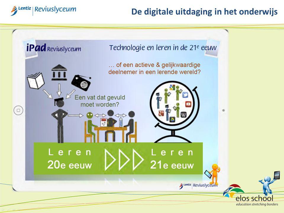 De digitale uitdaging in het onderwijs