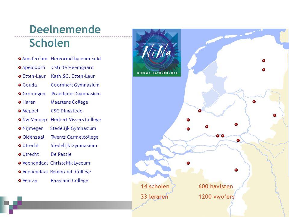 Amsterdam Hervormd Lyceum Zuid Apeldoorn CSG De Heemgaard Etten-Leur Kath.SG.