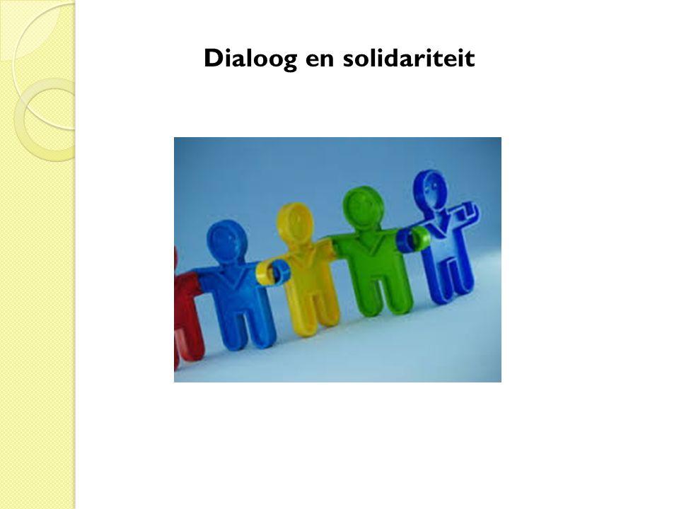 Dialoog en solidariteit