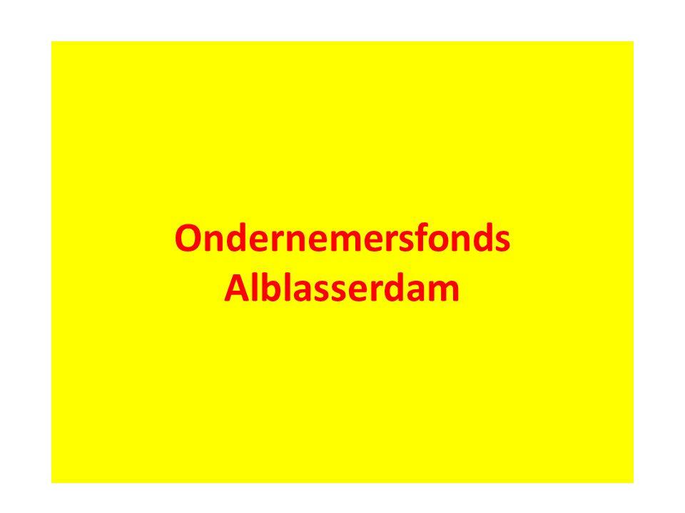 Ondernemersfonds Alblasserdam