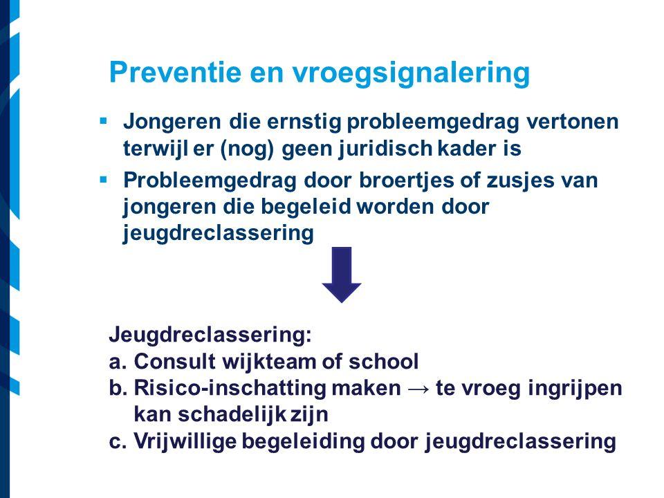 Vereniging van Nederlandse Gemeenten  Jongeren die ernstig probleemgedrag vertonen terwijl er (nog) geen juridisch kader is  Probleemgedrag door bro