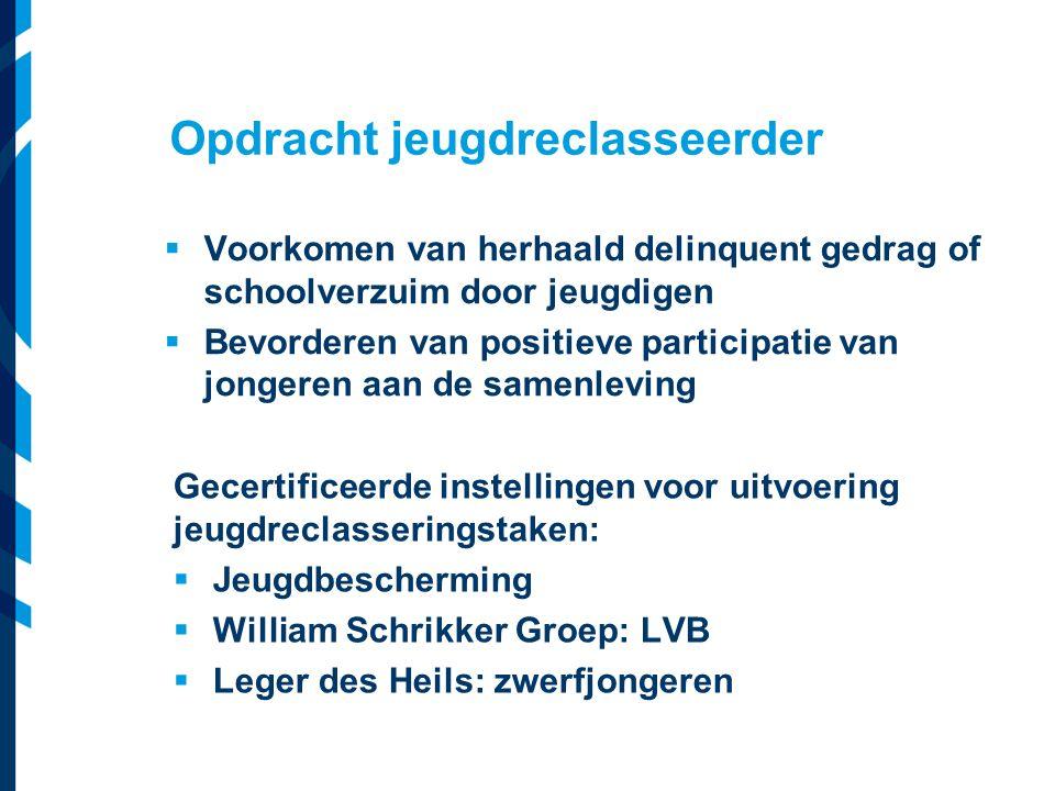 Vereniging van Nederlandse Gemeenten  Voorkomen van herhaald delinquent gedrag of schoolverzuim door jeugdigen  Bevorderen van positieve participati