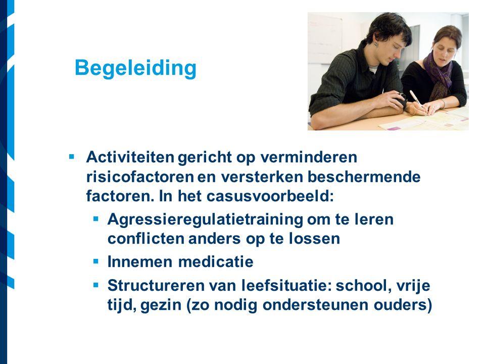 Vereniging van Nederlandse Gemeenten  Activiteiten gericht op verminderen risicofactoren en versterken beschermende factoren. In het casusvoorbeeld: