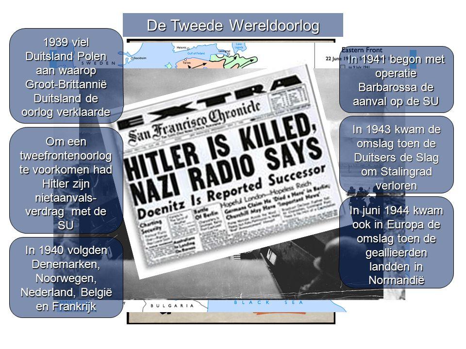 De Tweede Wereldoorlog Had Chamberlain kunnen weten dat Hitler niet zou stoppen? In 1940 volgden Denemarken, Noorwegen, Nederland, België en Frankrijk