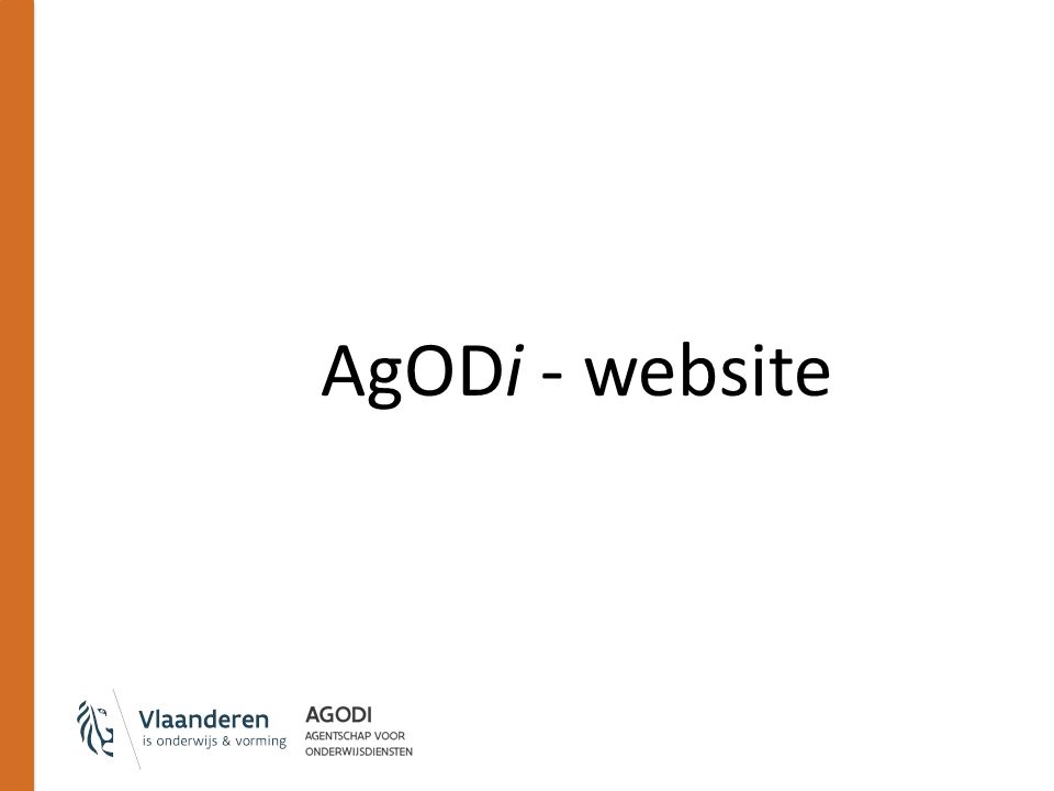 AgODi - website