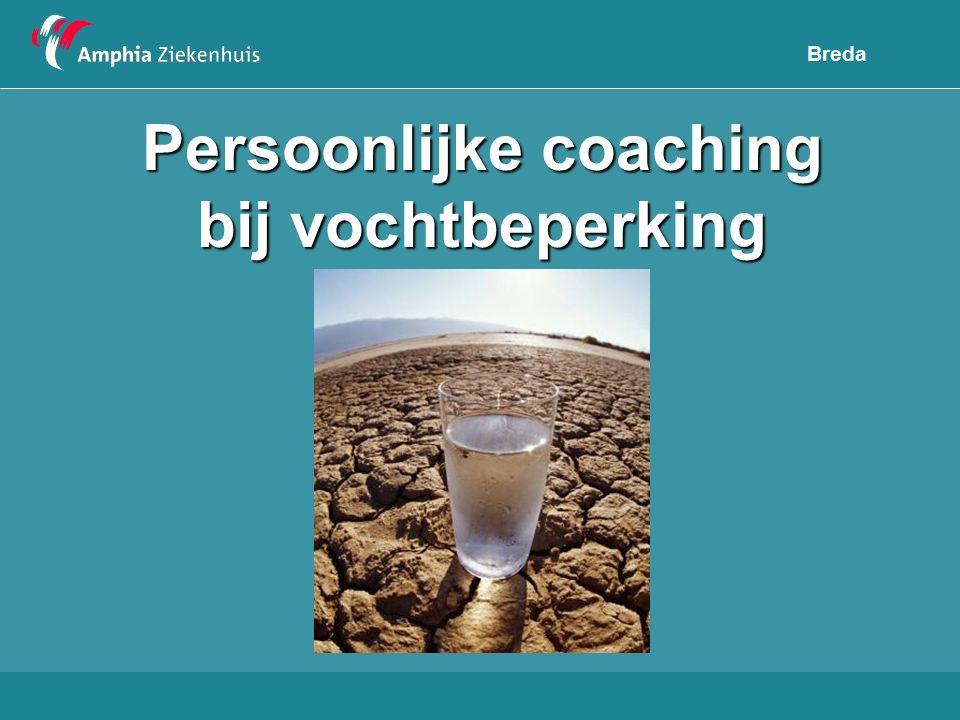Persoonlijke coaching bij vochtbeperking Breda