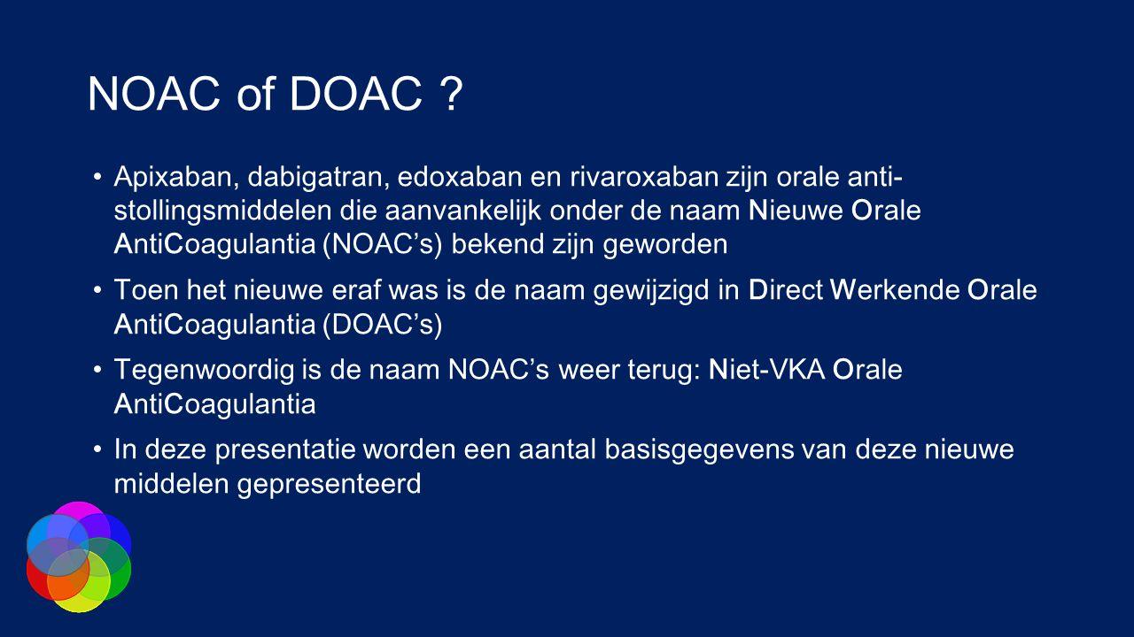 NOAC of DOAC .