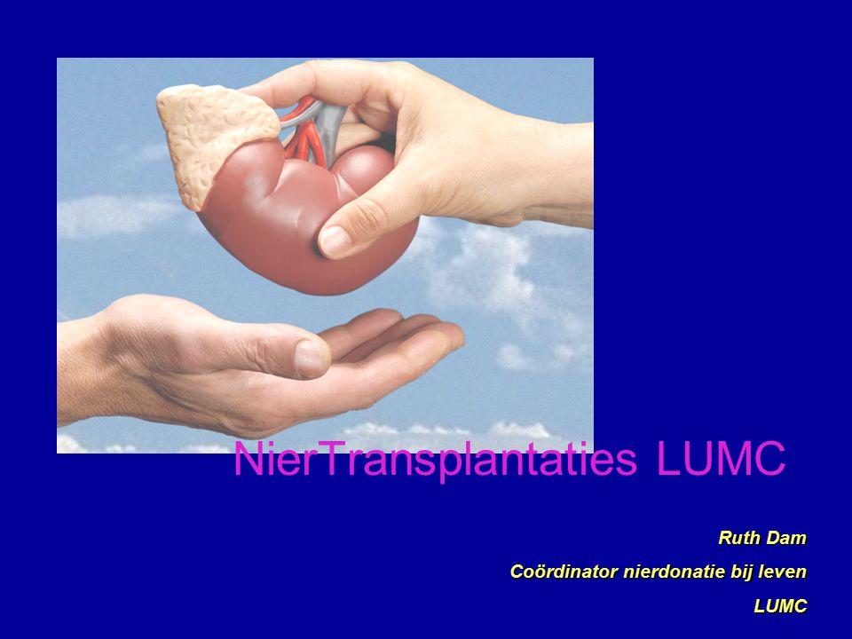 NierTransplantaties LUMC Ruth Dam Coördinator nierdonatie bij leven LUMC