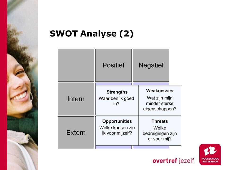 SWOT Analyse (2)