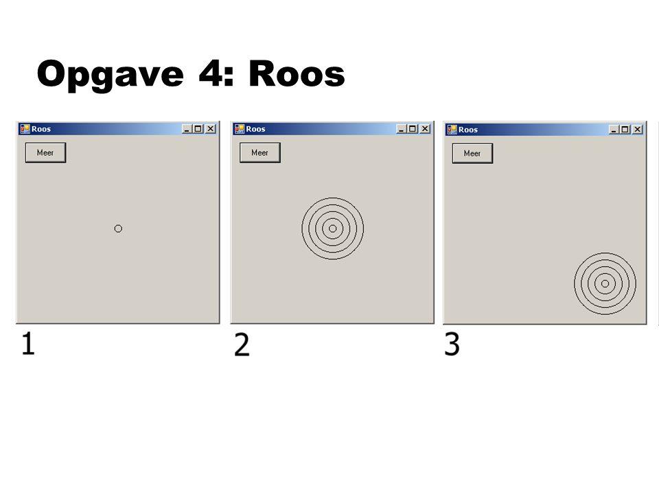 Opgave 4: Roos